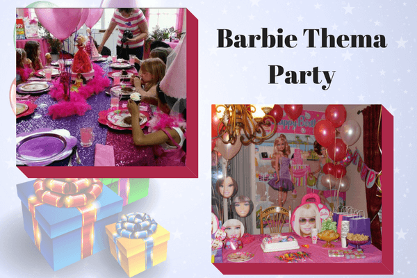 Barbie-Thema-Party